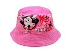 SETINO Dievčenský klobúk Minnie mouse - tmavo ružová