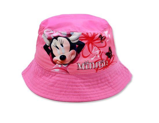 """SETINO Dívčí klobouk """"Minnie Mouse"""" - tmavě růžová - 52 cm"""