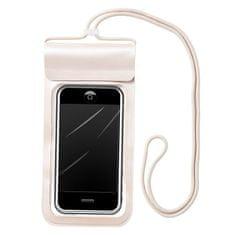 MG Waterproof vodotesné púzdro na mobil 6.6'', béžové
