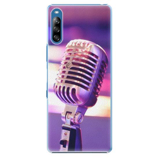 iSaprio Plastový kryt - Vintage Microphone pre Sony Xperia L4