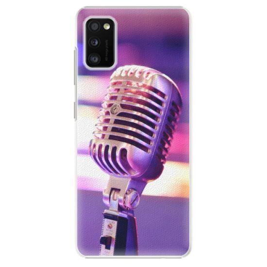 iSaprio Plastový kryt - Vintage Microphone pre Samsung Galaxy A41