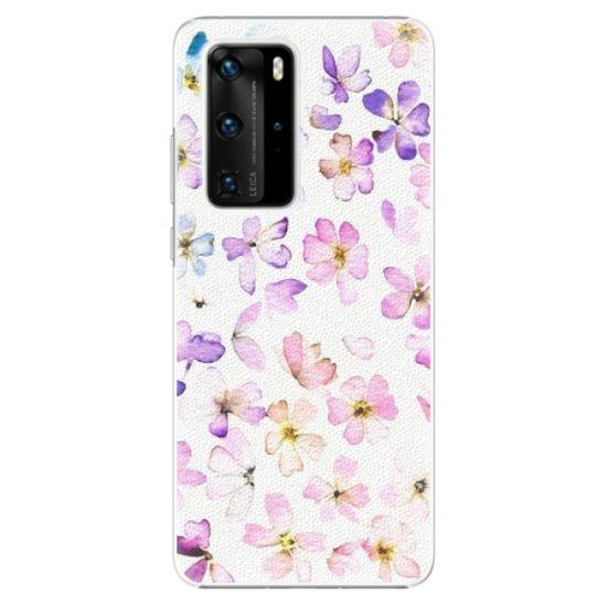 iSaprio Plastový kryt - Wildflowers pre Huawei P40 Pro