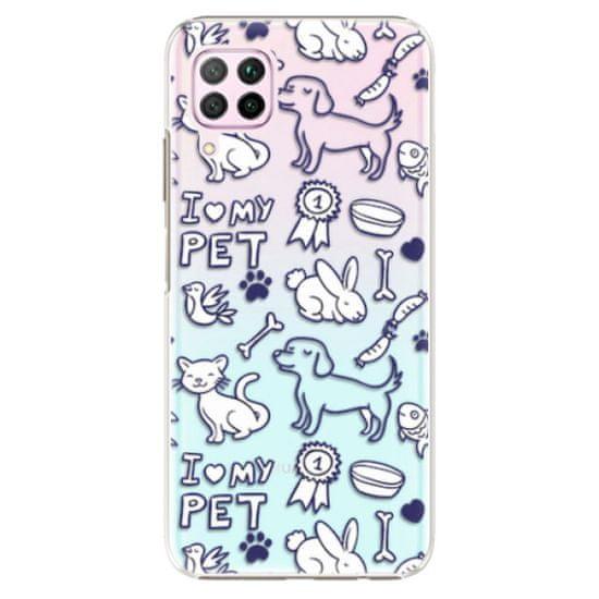 iSaprio Plastový kryt - Love my pets pre Huawei P40 Lite