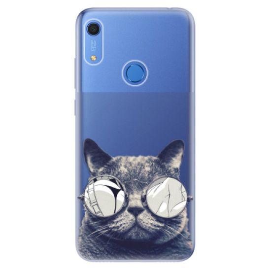 iSaprio Silikónové puzdro - Crazy Cat 01 pre Huawei Y6s