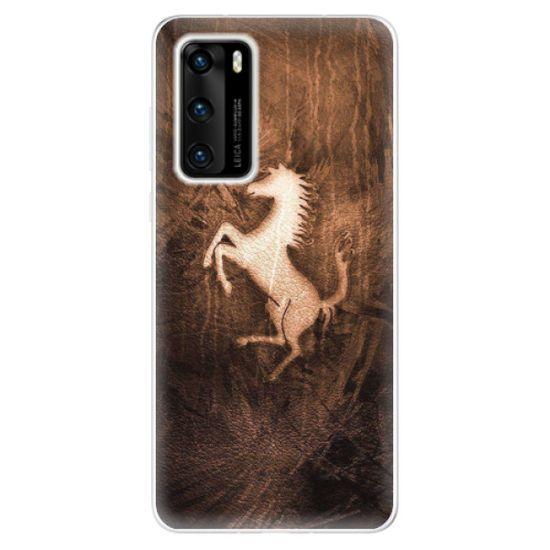 iSaprio Silikónové puzdro - Vintage Horse pre Huawei P40