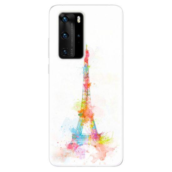 iSaprio Silikónové puzdro - Eiffel Tower pre Huawei P40 Pro