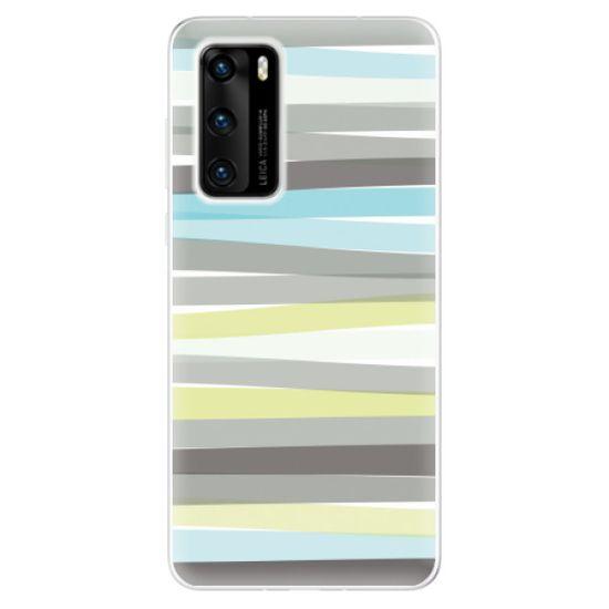 iSaprio Silikonové pouzdro - Stripes pro Huawei P40