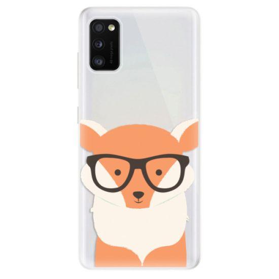 iSaprio Silikónové puzdro - Orange Fox pre Samsung Galaxy A41
