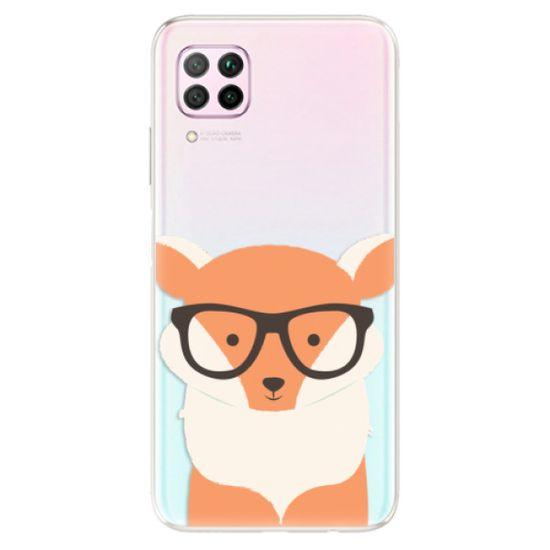 iSaprio Silikónové puzdro - Orange Fox pre Huawei P40 Lite