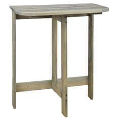 Esschert Design Nástěnný sklopný stolek NG66