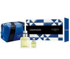 Calvin Klein Eternity For Men toaletna voda 100 ml + 15 ml + kozmetička torbica
