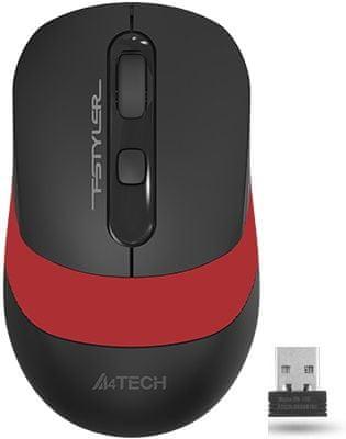 A4Tech mysz komputerowa FG10 FStyler, czerwona (FG10 Red)