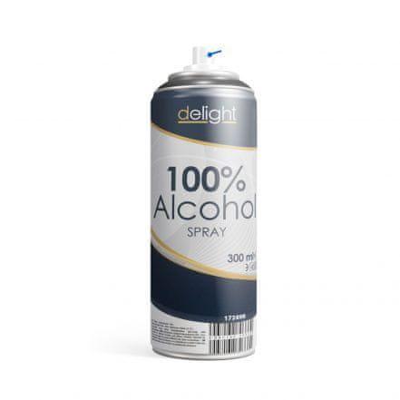 Delight 100% alkohol v spreju za razkuževanje površin – 300 ml