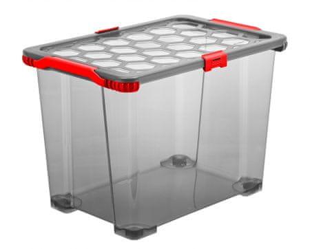 Rotho Kutija za pohranjivanje s kotačima EVO TOTAL, 65 l