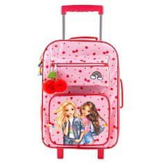 Top Model Cestovný kufor , Candy + Talita, ružový