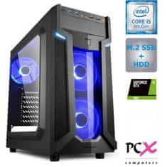 PCX EXAM gaming 4.9S namizni računalnik