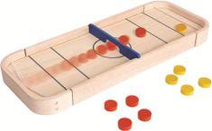 """Plan Toys Shuffleboard drevená stolová hra """"PlanLifestyle"""""""
