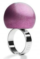 Ballsmania Fialový metalický prsten VIOLA AMETISTA