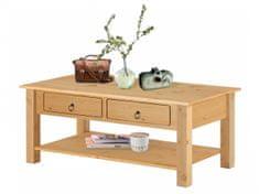 Danish Style Konferenčný stolík Inge, 110 cm, borovica