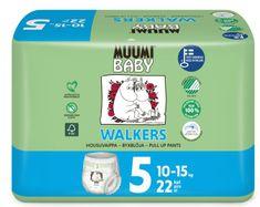 MUUMI BABY Walkers 5 Maxi+ Pelenka (10-15 kg) 22 db