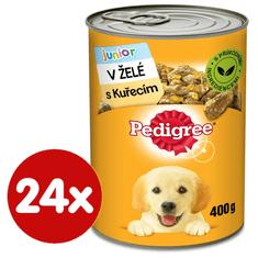 Pedigree Csirkés konzerv zselével, kölyökkutyáknak 24x400 g