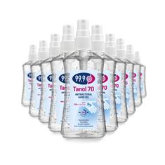 Tanol 70 antibakteriálny gél 70% alkoholu (10x100 ml)
