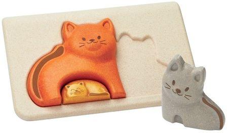 Plan Toys Puzzle család - macskák