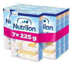 Nutrilon Pronutra Prvá kaša ryžová s príchuťou vanilky 225g, 4+