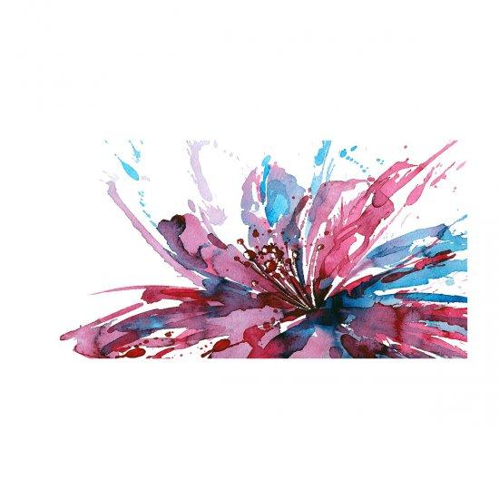 WALLMURALIA Foto obraz akrylový do obýváku Abstraktní květ