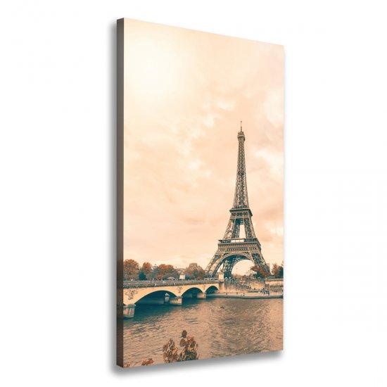 WALLMURALIA Foto obraz na plátně Eiffelová věž Paříž 60x120 cm