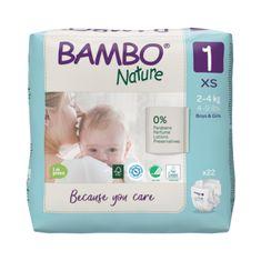 Bambo Nature 1, 22 db 2-4 kg számára
