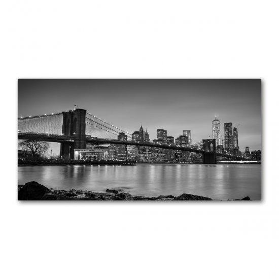 WALLMURALIA Foto obraz akrylové sklo Now York 140x70 cm
