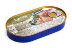 SOKRA Losos filety v olivovom oleji 170 g