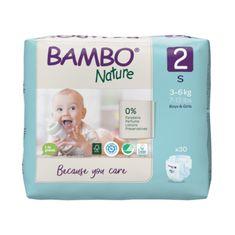Bambo Nature Pielucho-majtki 2, 30 szt., 3-6 kg