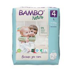 Bambo Nature pelene, 24 komada, za 7-14 kg