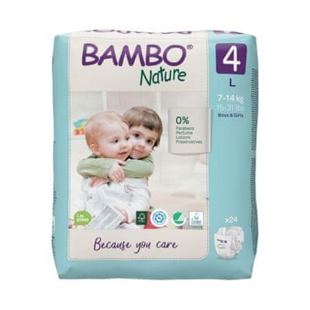 Bambo Nature plenice, 24 kosov, za 7-14 kg