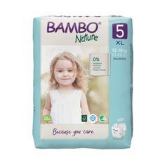Bambo Nature pelene, 22 komada, za 12-18 kg
