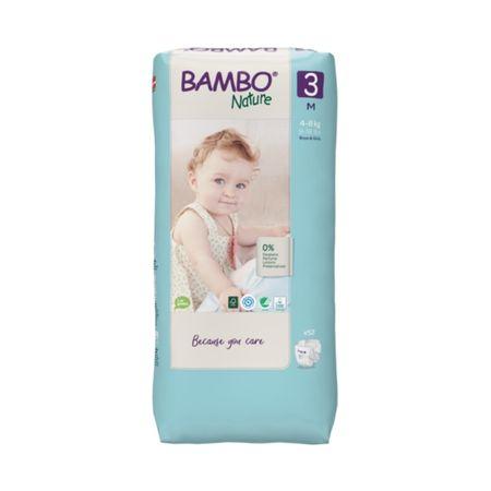 Bambo Nature 3 – Tall plenice (4-8 kg), 52 kosov