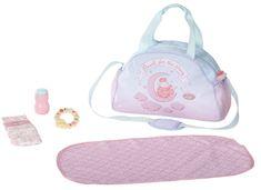 Baby Annabell Previjalna torba, roza/modra