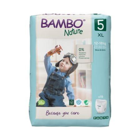 Bambo Nature donje hlače 5, 19 komada, za 12-18 kg