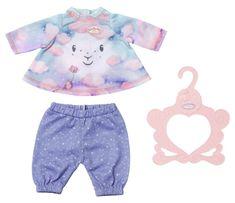 Baby Annabell pižama za lutko Sladke sanje, lila