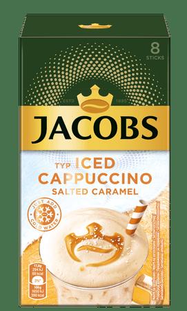 Jacobs kawa rozpuszczalna Ice Cappuccino, słony karmel
