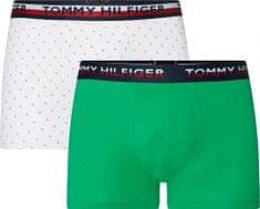 Tommy Hilfiger moške boksarice UM0UM01233 2P Trunk Print, 2 kosa