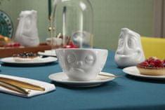 58products Podřimující šálek a podšálek na kávu, cappuccino, čaj 200 ml, 58products