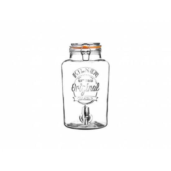 Kilner Skleněný soudek nápojový automat s kohoutkem, 5 l Kilner