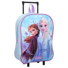 """Vadobag Detský cestovný kufor na kolieskach """"Frozen II Magical Journey"""" - tyrkysová"""