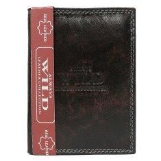 Always Wild Exkluzivní kožená pánská peněženka černá Nero