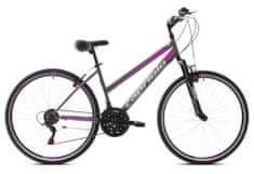 Capriolo Trek Sunrise Lady 28 trekking bicikl, siva-roza