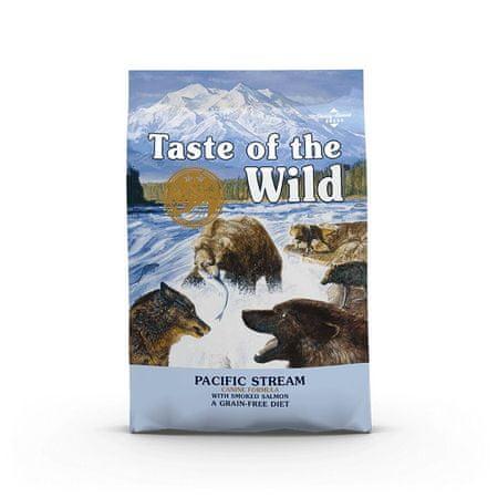 Taste of the Wild Pacific Stream Canine briketi za odrasle pse, 12,2 kg - Odprta embalaža