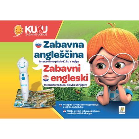 Kuku Zabavno učenje interaktivna olovka Kuku s knjigom, Zabavni engleski